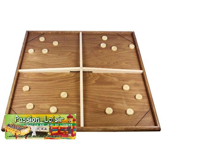 Table à élastiques géante 4 joueurs