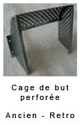 Cage de but perforée Champion rétro et collector 85.00€