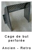 Cage de but perforée Champion rétro et collector 85.00€