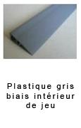 Plastique gris biais interieure (jeu de 3lg) 33.00€