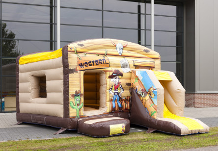 Bouncer Western 3m*3m couvert