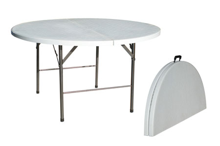 Location table ronde mariage for Grande table pliante ikea