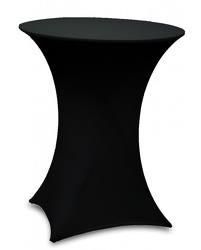 Mange debout 80cm de diametre avec housse lycra noir
