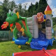 Gonflable Dragon 3,50m×4,4 h3. 90