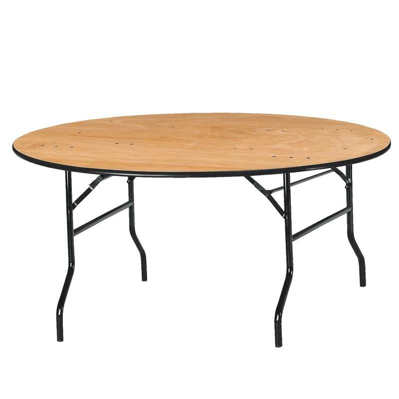 table ronde 1.52cm diamètre pour 8 personnes (encombrant)